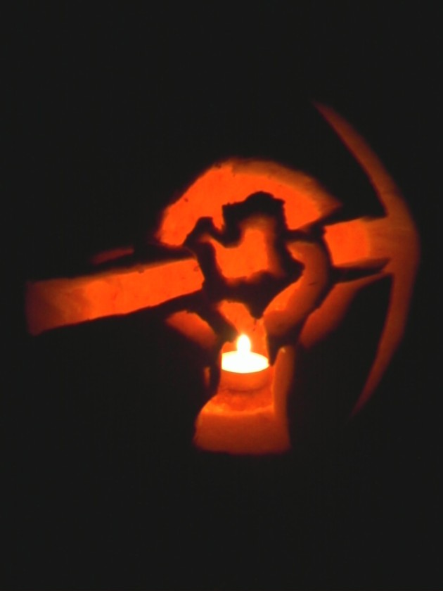Red Faction jack-o-latern