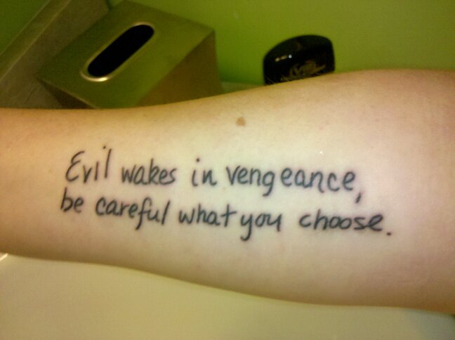 Tattoo thoughts from a girl gamer for Thoughts about tattoos