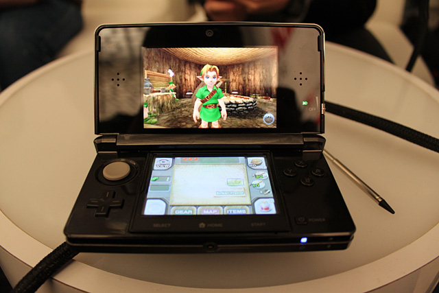 Legend of zelda ocarina of time 3d review thoughts from a girl gamer - Ocarina of time 3ds console ...