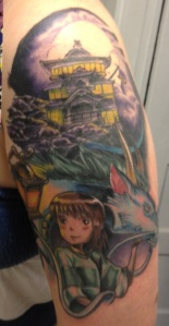 Spirited Away Tattoo